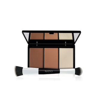 Natio Contour Palette with Brush(15g)