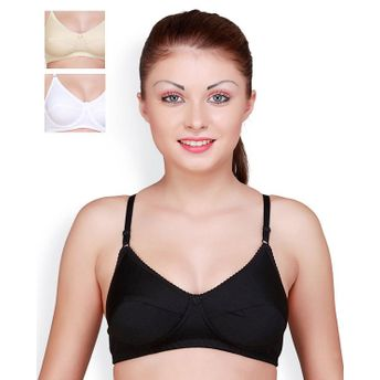 dbc0958496a7e Floret Pack of 3 Full Coverage Padded Bras - Multi-Color at Nykaa.com