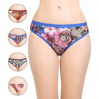 c2b17e82ee Bodycare Printed Poly Cotton Panties Multi-Color (Pack Of 5) at ...
