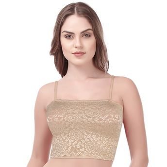 c7e983a0c4e Kate Single Non Padded Short Tube Top Bra -Nude (Freesize) at Nykaa.com