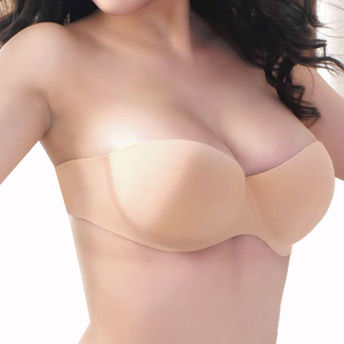 3a059f9f455eb Kate Invisible Backless   Strapless Reusable Cup Bra - Nude at nykaa.com