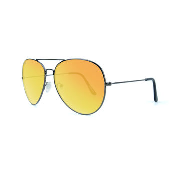 09bad30f8e Knockaround Mile High Sunglasses Gunmetal Sunset - Polarized at ...