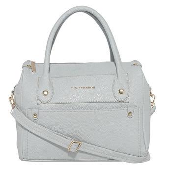 Lino Perros Grey Leatherette Handbag at Nykaa.com 20c9273ddd6d6