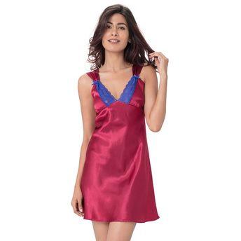 72f0e02ca6 PrettySecrets Nightdress - Buy Pretty Secrets Satin Lace Trim ...