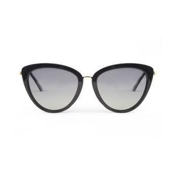 72fa6dda8ddd5 Marie Claire MC013 C1 Cat-eye Polarized Sunglasses - Black at Nykaa.com