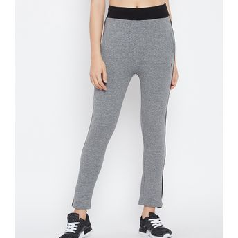 ca5dcfde57930 C9 Seamless Women's Solid Grey Ankle Length Legging (XL) at Nykaa.com