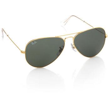 b069d0ad255aa2 Ray-Ban Women s Sunglasses - Buy Ray-Ban Green Aviator Sunglasses ...