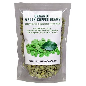 f7a732f5d6c NutraVigour Organic Decaffeinated Green Coffee Beans at Nykaa.com