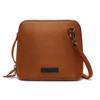 c2249a580bff DailyObjects Tan Faux Leather - Trapeze Crossbody Bag at Nykaa.com
