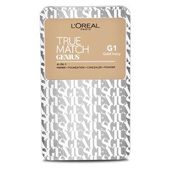33561b390b27 L Oreal Paris True Match Genius 4-In-1 Compact Foundation - Gold ...