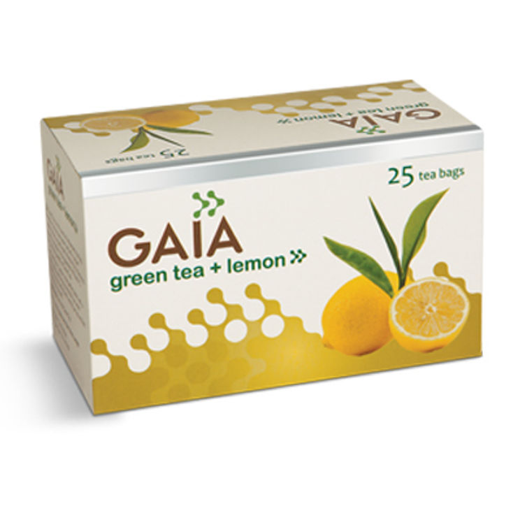 Gaia Green Tea Lemon