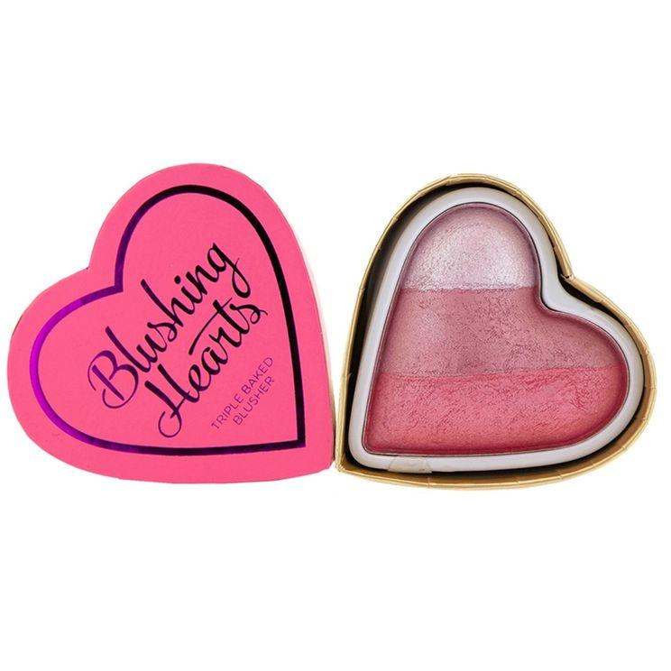 Makeup Revolution I Heart Makeup Blushing Heart Triple Baked Blusher