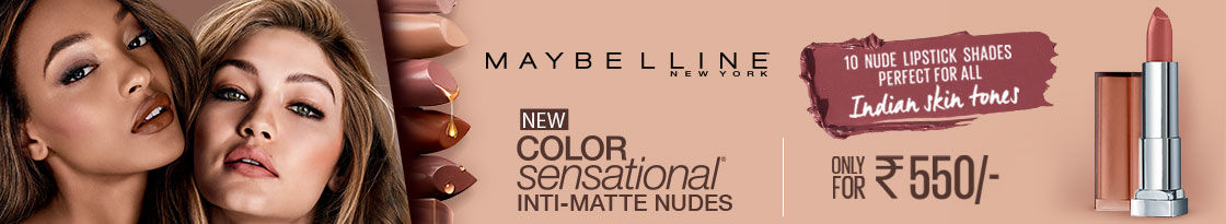 off on Maybelline