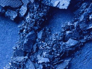 In The Shadows - Vibrant Dark Blue
