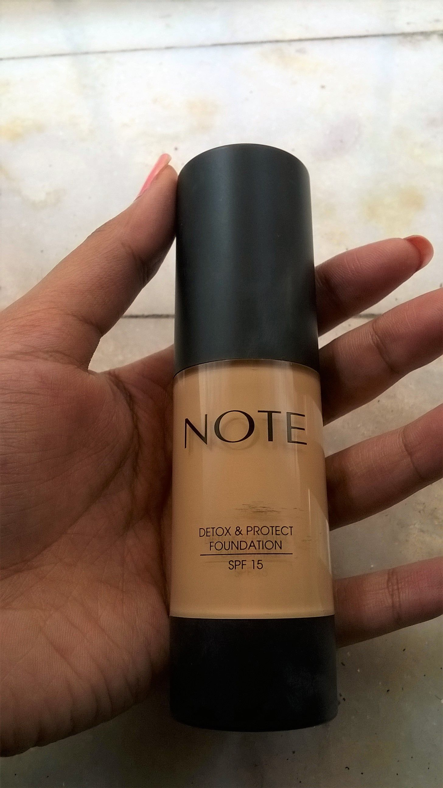 Note Foundation - Buy Note Detox And Protect Foundation Online in ...