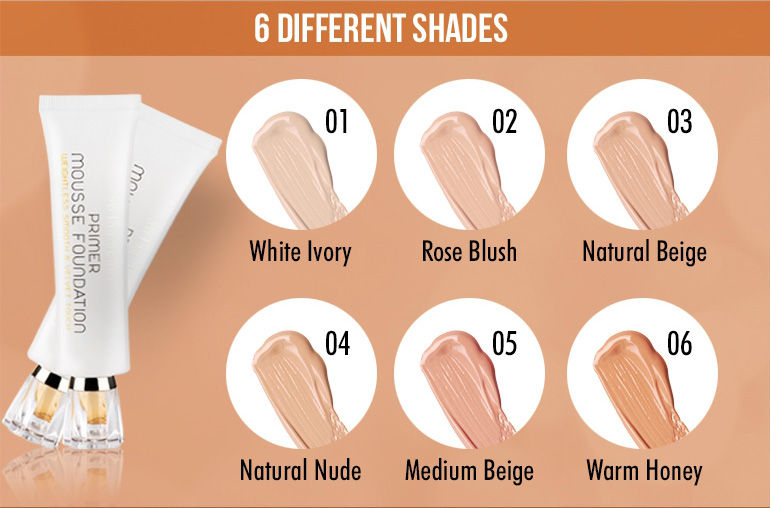 6 Different Shades