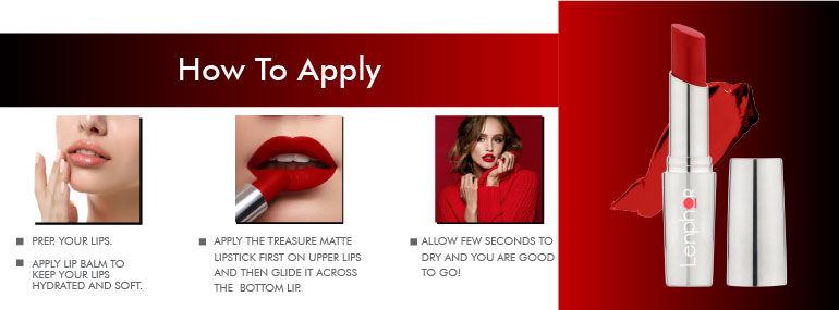 Lenphor Treasure Matte Lipstick