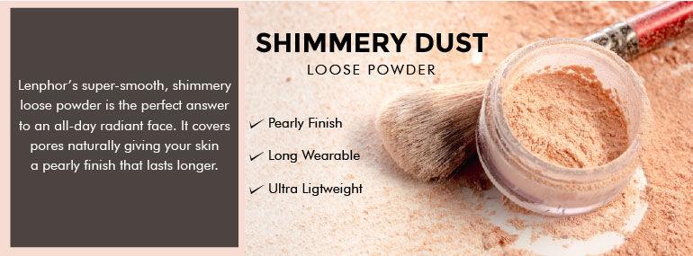 Lenphor Shimmery Dust Loose Powder