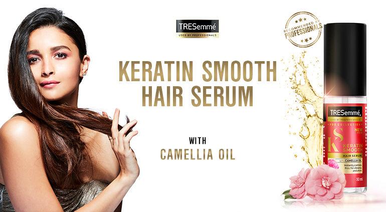 keratin smooth hair serum