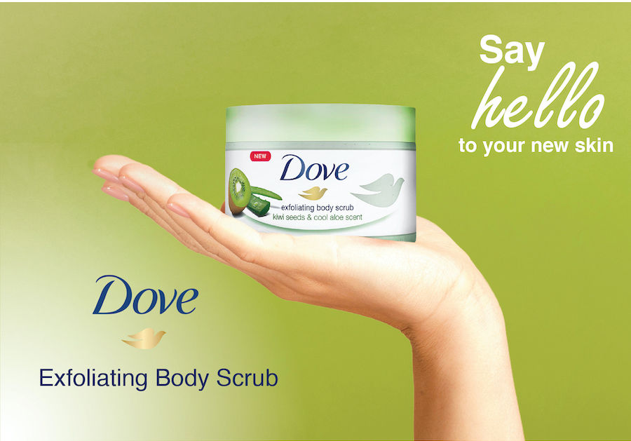 Dove Body Polish