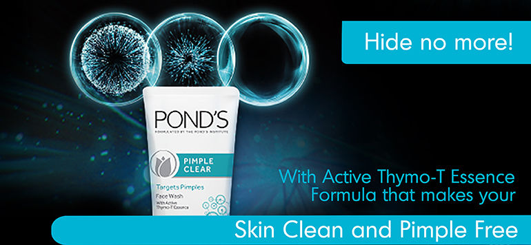 Ponds Oil Control F1-banner