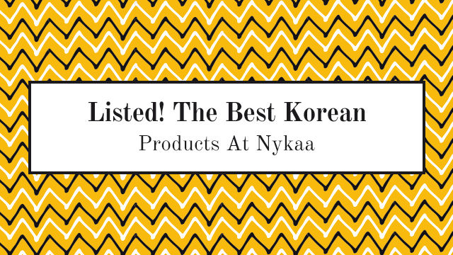 listed-the-best-korean-products-at-nykaa | Nykaa