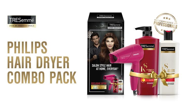 philips hair dryer combo pack