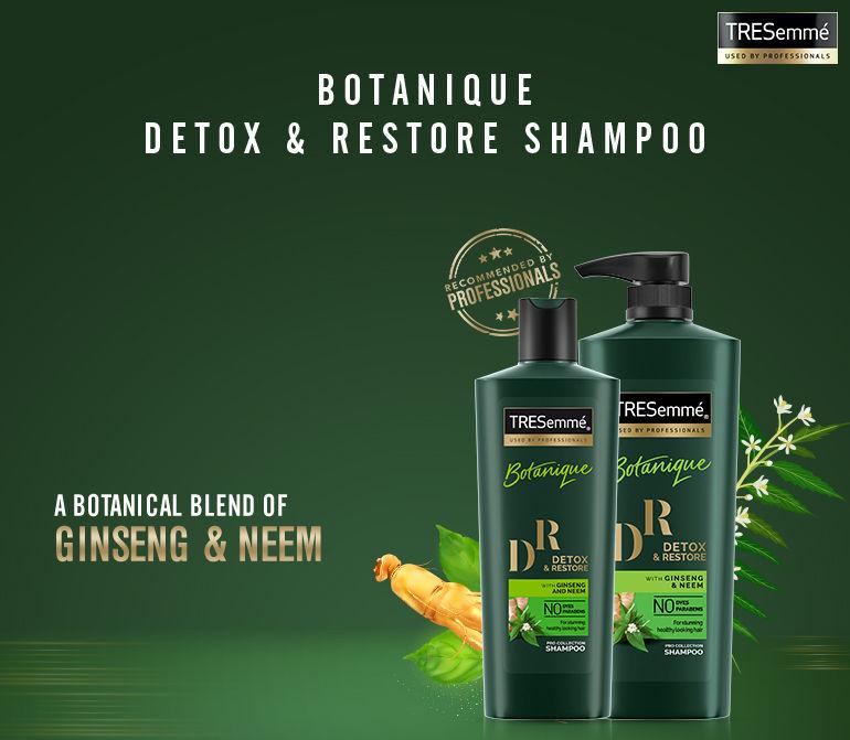 detox & restore shampoo