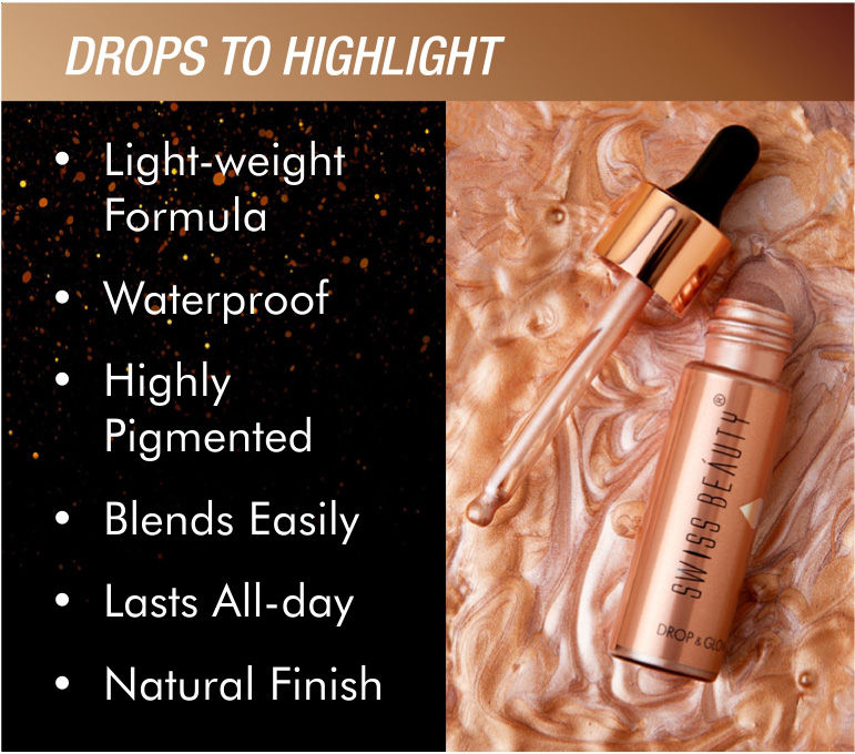 Drops to highlight