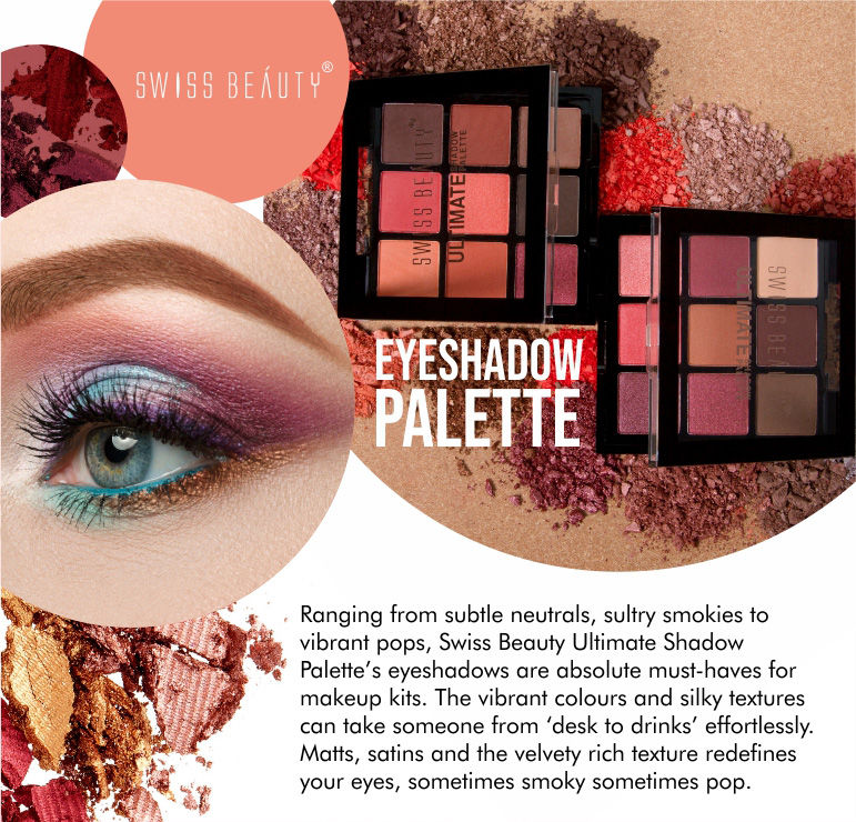 SWISS BEAUTY:EYESHADOW PALETTE