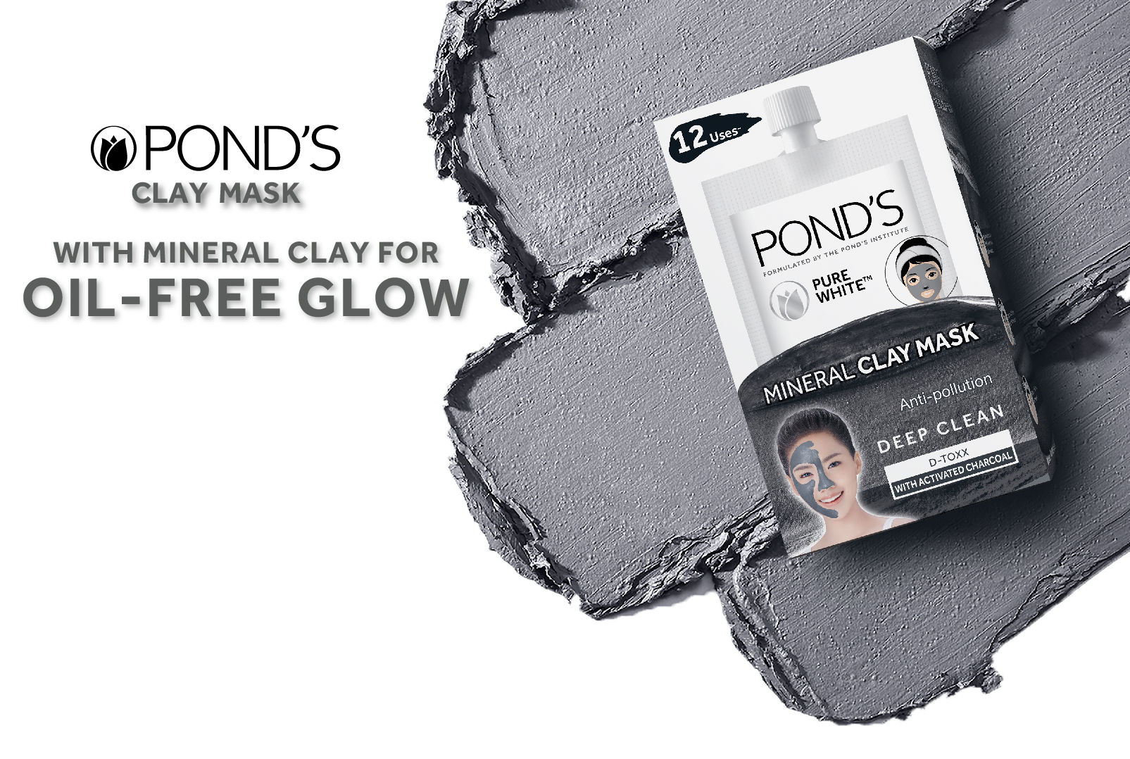 Ponds Oil Control F1 Banner