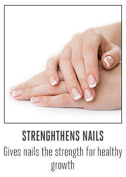 STRENGHTHENS NAILS