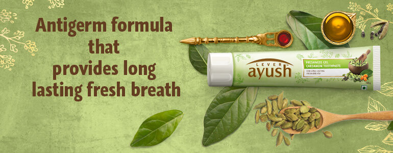 Ayush Anti Cavity Banner