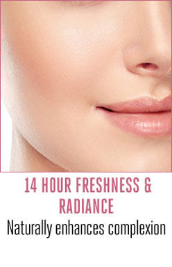 14 hours freshness & radiance
