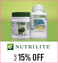 Get Online Offers on Amway Products Flat 15%