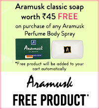 Get Online Offers on Aramusk Products Flat 10%