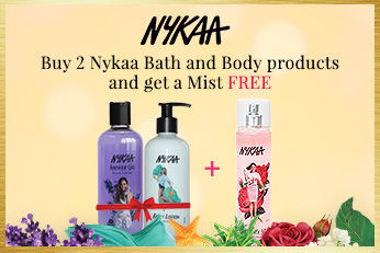 Get Online Offers on Nykaa Bath And Body Products