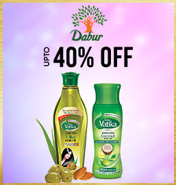 Get Online Offers on Dabur Products Upto 40%