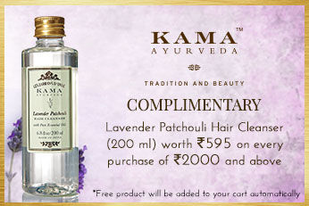 Get Online Offers on Kama Ayurveda Products Free Products