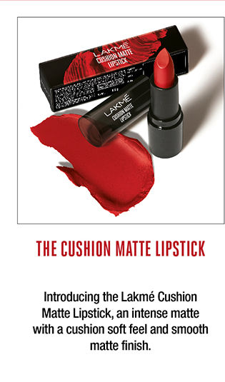 The cushion matte lipstick