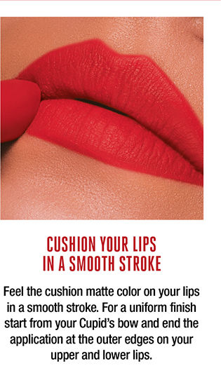 cushion your life with smooth stroke