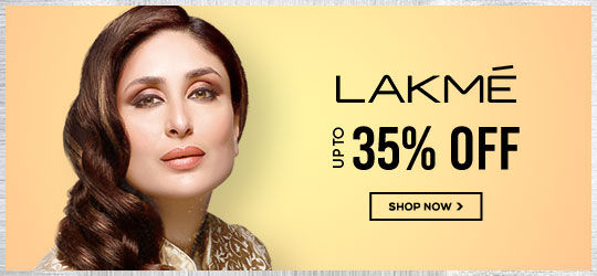Get Online Offers on Lakme Products Upto 35%