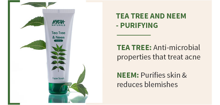 TEA TREE AND NEEM - PURIFYING