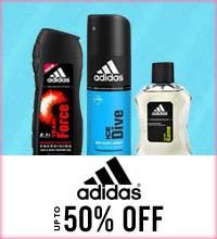 Get Online Offers on Adidas Products Upto 50%