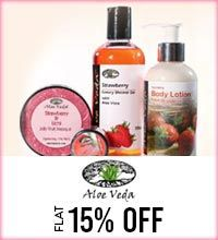 Get Online Offers on Aloe Veda Products Flat 10%