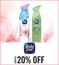 Get Online Offers on Ambi Pur Products Upto 20%