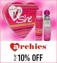Get Online Offers on Archies Products Flat 10%