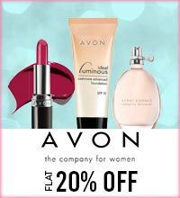 Get Online Offers on Avon Products Flat 20%