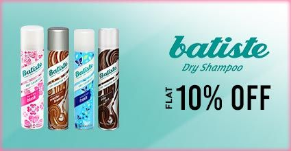 Get Online Offers on Batiste Products Flat 10%