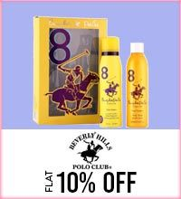 Get Online Offers on Beverly Hills Polo Club Products Flat 10%